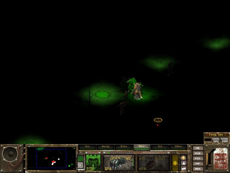 fallout tactics,riddick,całkowita ciemność