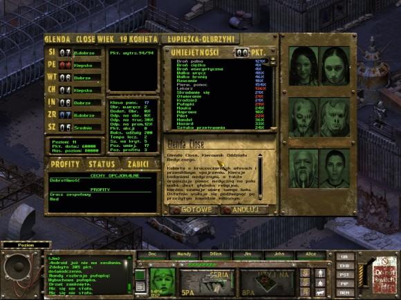 fallout tactics,newton,łupieżca