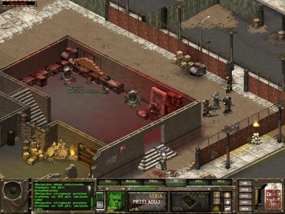 fallout tactics,newton,wieżyczki