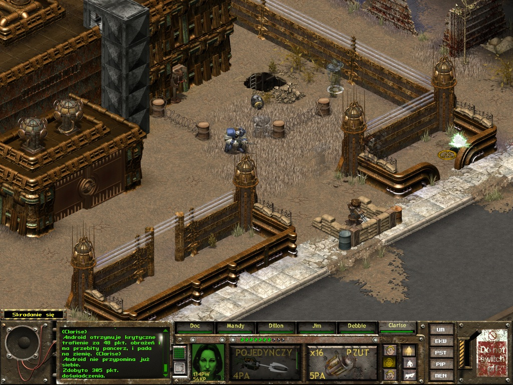 5 6 Roboty :: Poradnik :: Fallout Tactics :: Game Exe