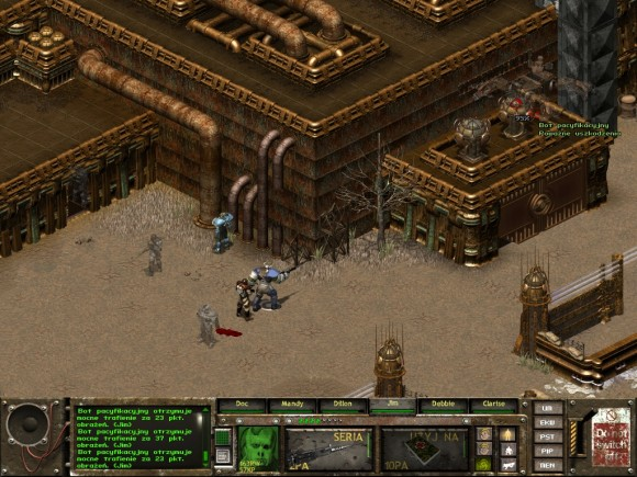 fallout tactics,canyon city,dziura