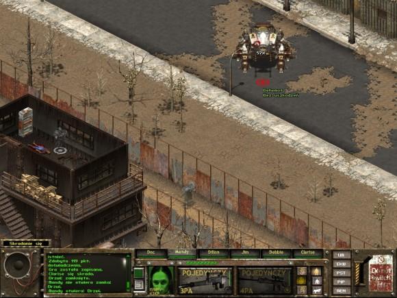 fallout tactics,scott city,behemot,płot