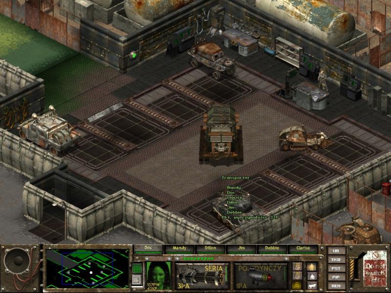 fallout tactics,park maszyn