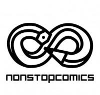 Non Stop Comics,logo