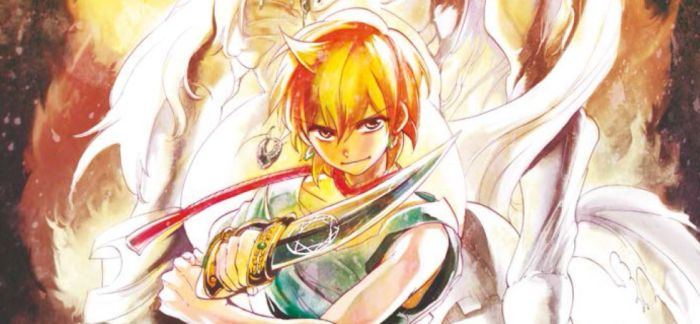 Magi: Labyrinth of Magic #6