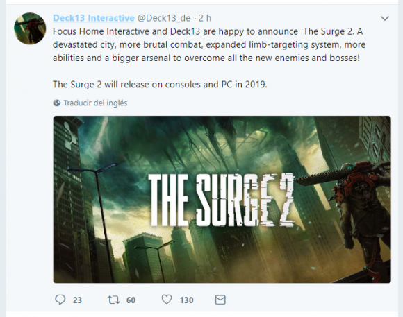 the surge,the surge 2