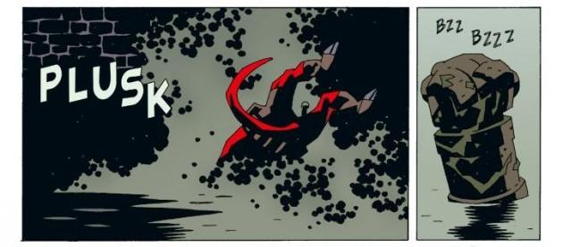 hellboy: spętana trumna. prawa ręka zniszczenia