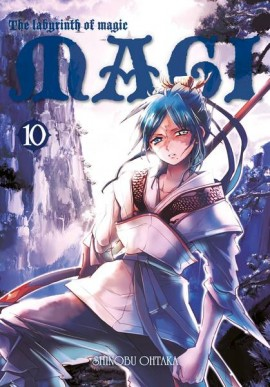 magi: labyrinth of magic #10