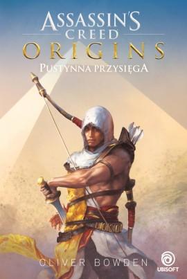 okładka, Assassin's Creed Origins: Pustynna przysięga,assasin's creed origins: pustynna przysięga