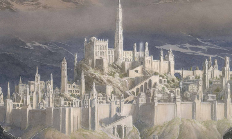 władca pierścieni,fall of gondolin