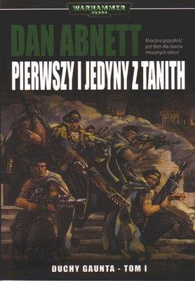 okładka, Pierwszy i jedyny z Tanith,pierwszy i jedyny z tanith