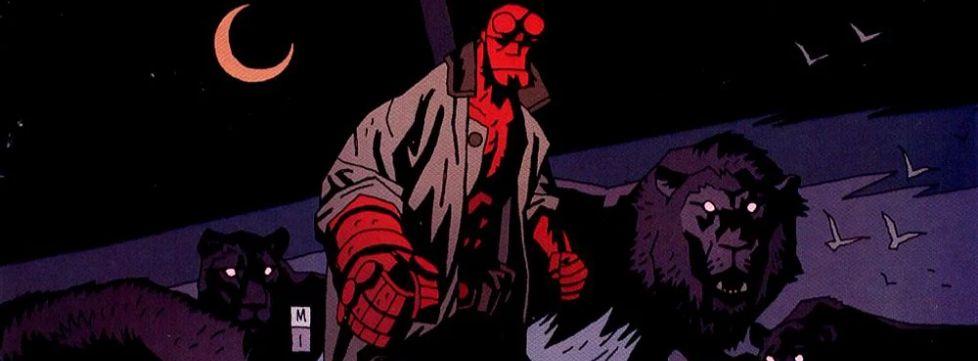Hellboy #3: Zdobywca Czerw. Dziwne miejsca