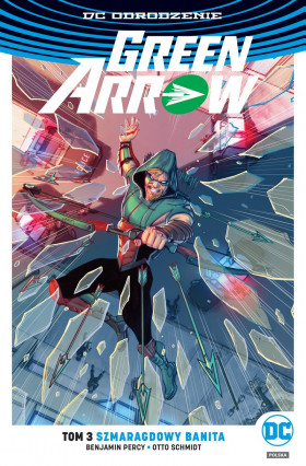 green arrow: szmaragdowy banita