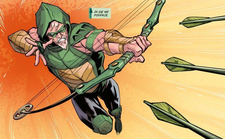 green arrow: szmaragdowy banita