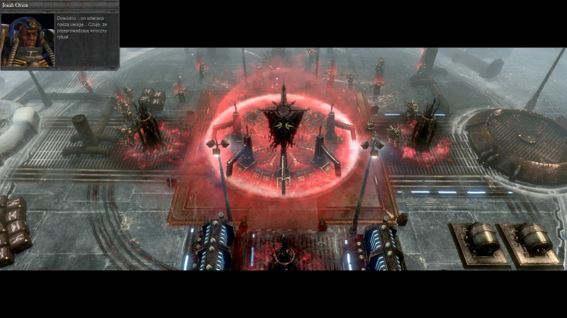 okładka, Warhammer 40:000 Dawn of War II: Chaos Rising,warhammer 40:000 dawn of war ii: chaos rising