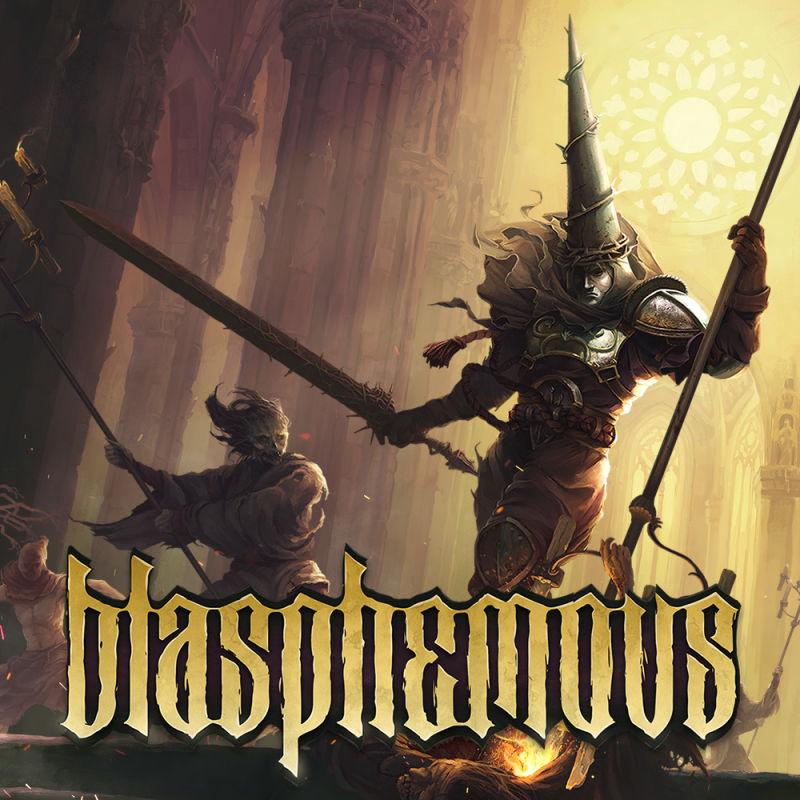 okładka, Blasphemous,blasphemous