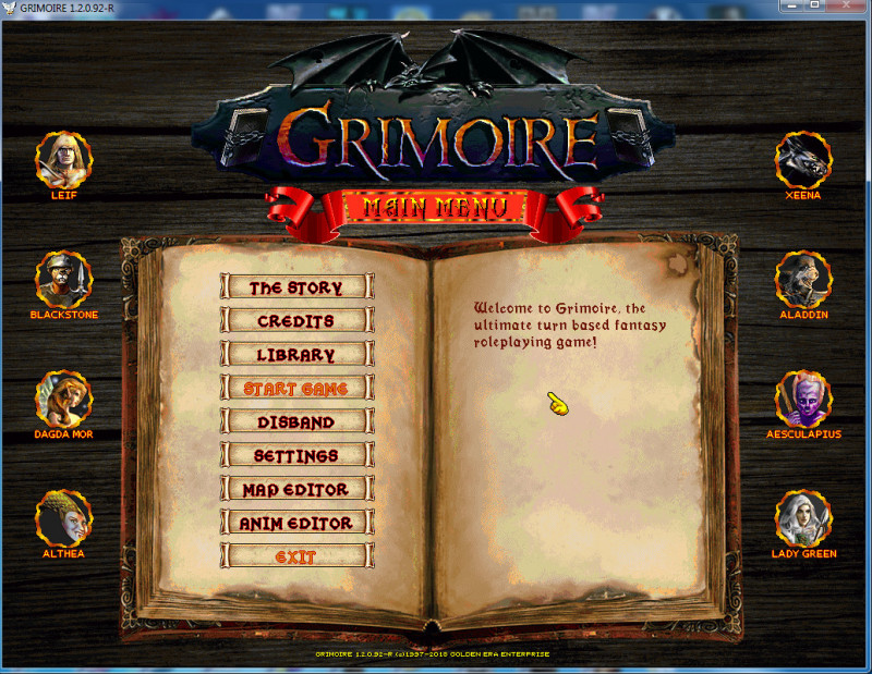 grimoire: heralds of the winged exemplar