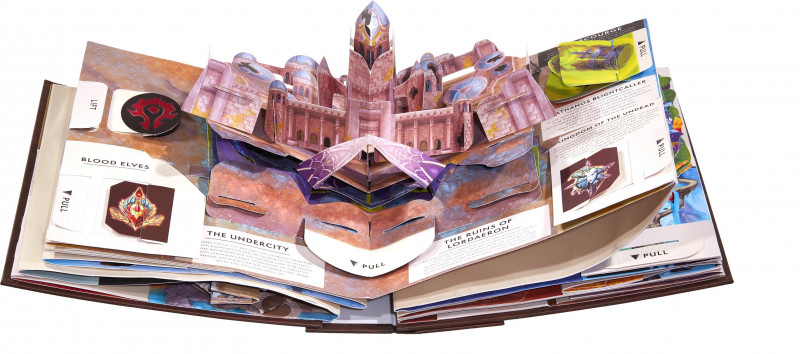 world of warcraft: pop-up book
