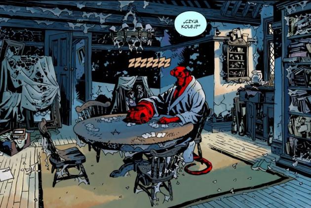 hellboy: zew ciemności. dziki gon