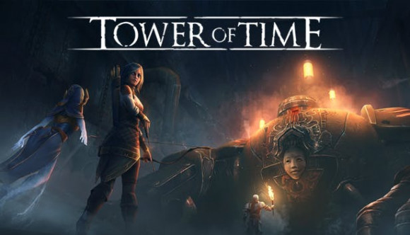 okładka, Tower of Time,tower of time