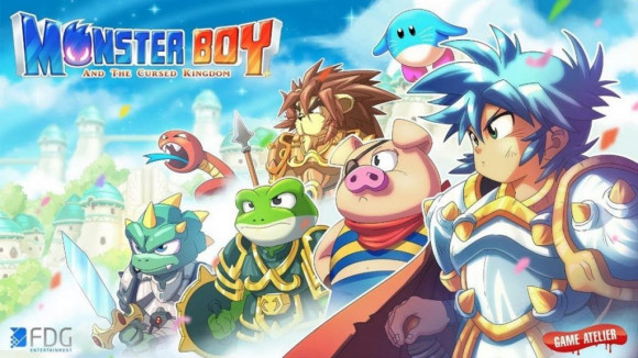 okładka, Monster Boy and the Cursed Kingdom,monster boy and the cursed kingdom