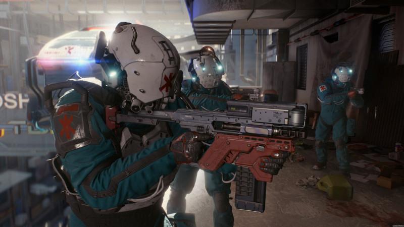 cyberpunk 2077,trauma team