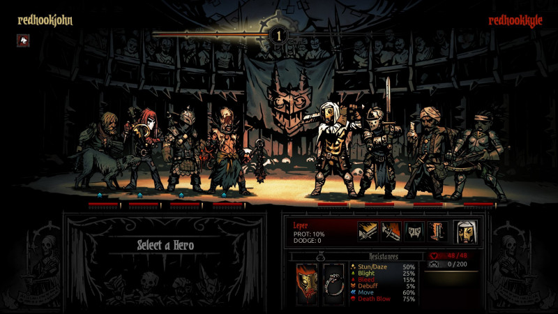 darkest dungeon,the butcher's circus