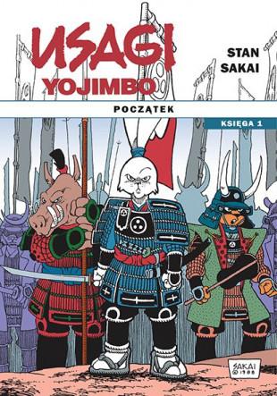 usagi yojimbo początek księga #01