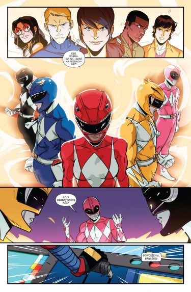 mighty morphin power rangers: rok drugi