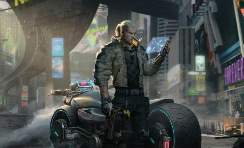 cyberpunk 2077,geralt,wiedźmin