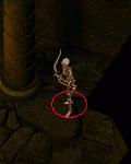 szkielet łucznik