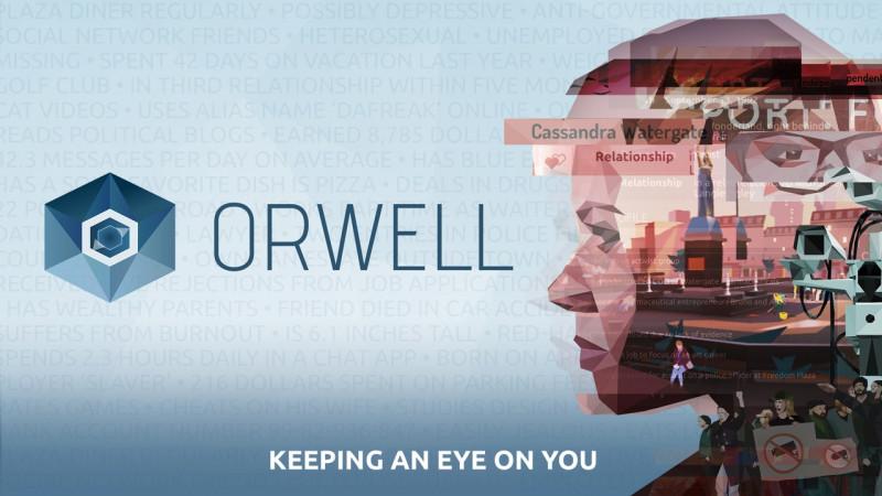 orwell: keeping an eye on you,orwell