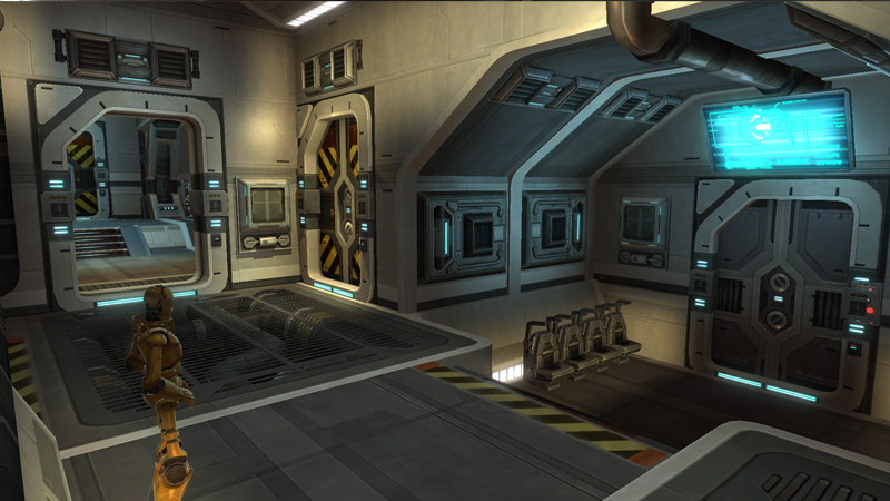 Rendili hyperworks bt 7 thunderclap statki star wars for Interieur vaisseau star wars
