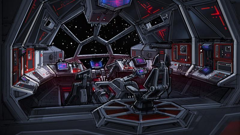 Statek przechwytuj cy klasy fury statki star wars for Interieur vaisseau star wars